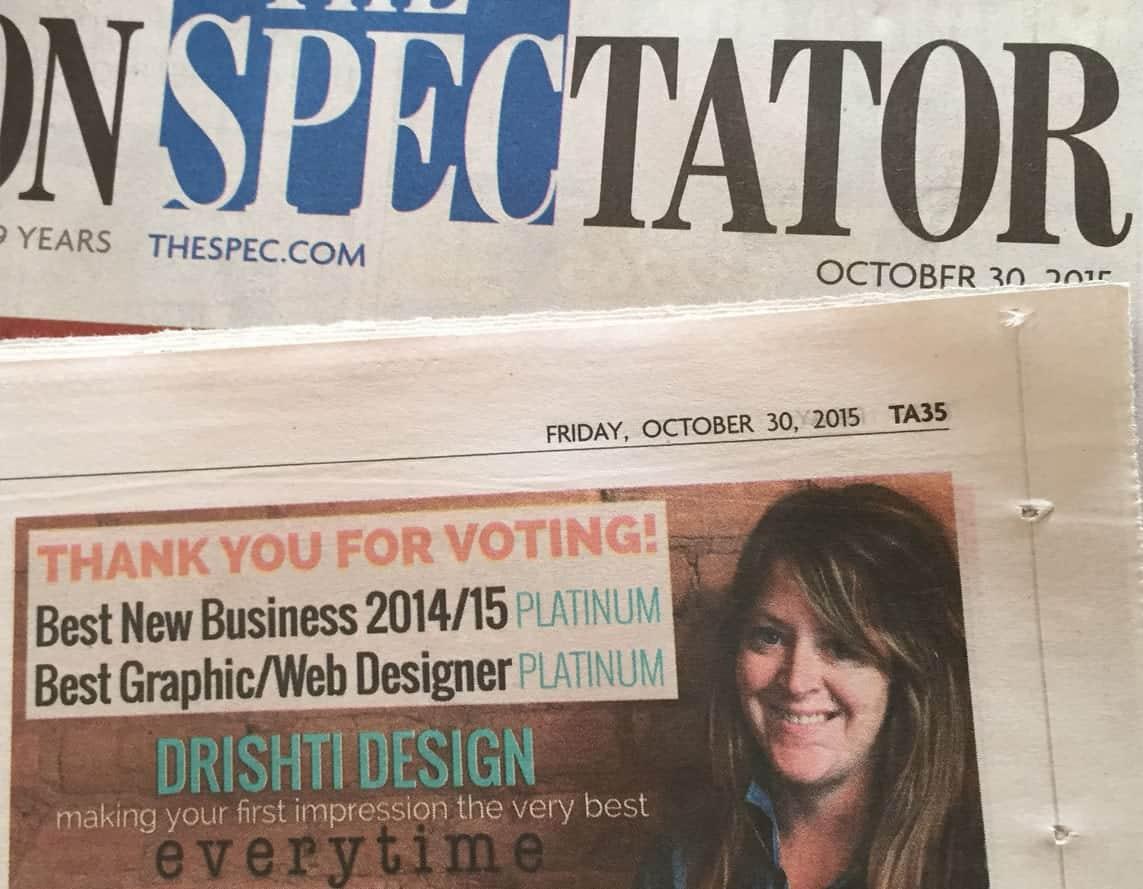 PrestigeDigital - Voted BEST NEW BUSINESS & BEST DESIGNER 2015