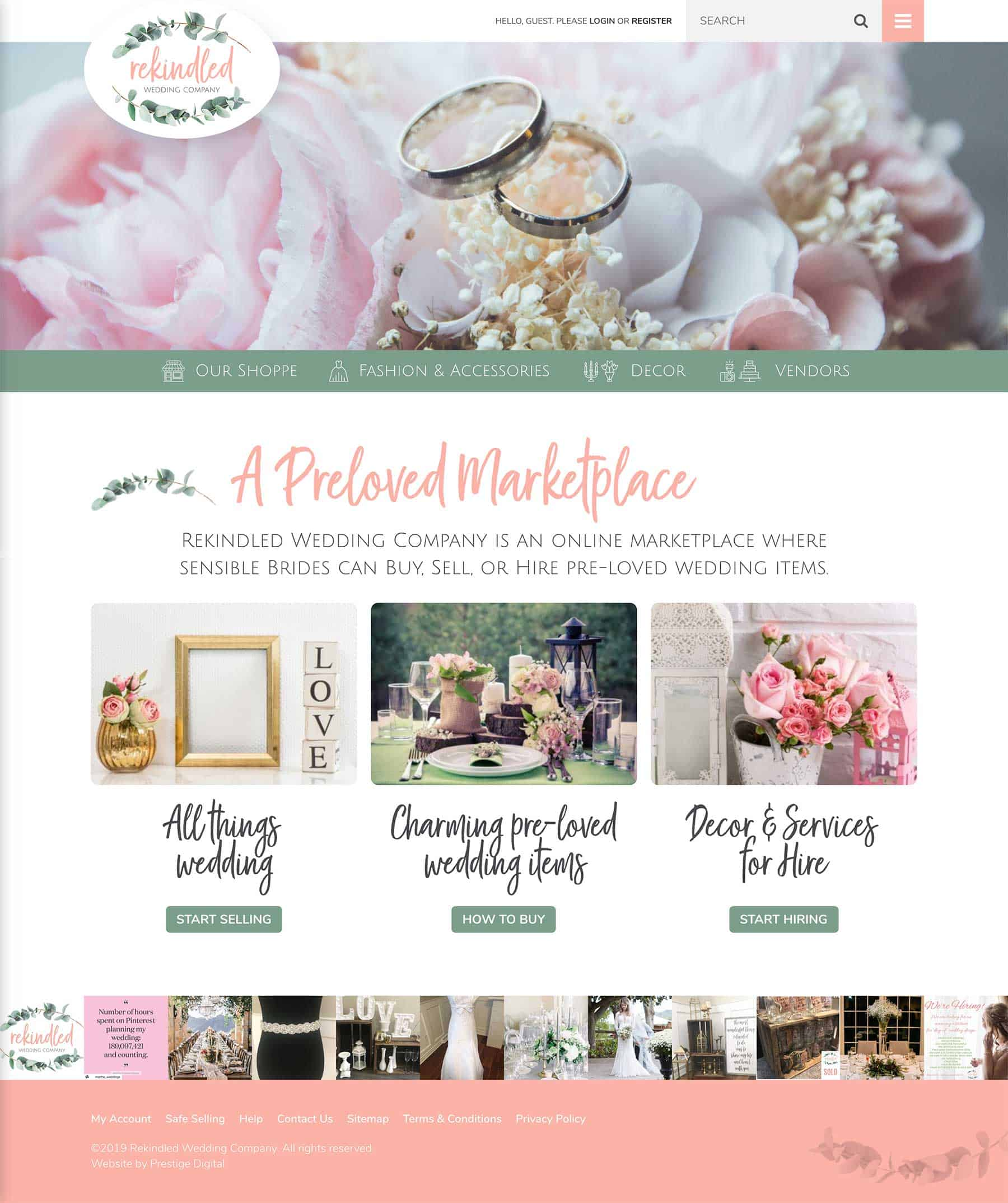 Rekindled Wedding Company Prestige Digital